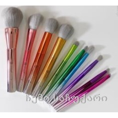 Bhcosmetics Take Me Back to Brazil Brushes, 10 Piece Brush Set/ ფუნჯების ნაკრები